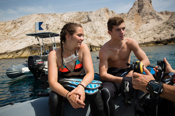 Dune Marseille - Open Water Diver PADI SSI